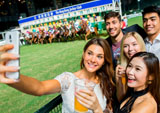 Free Horse Racing Party at Two Racecourses